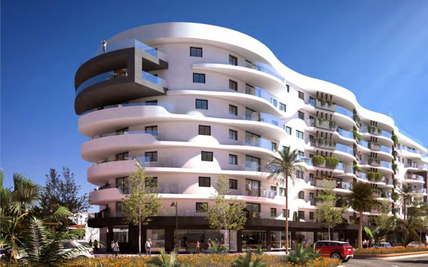 Urban living in the center of Estepona