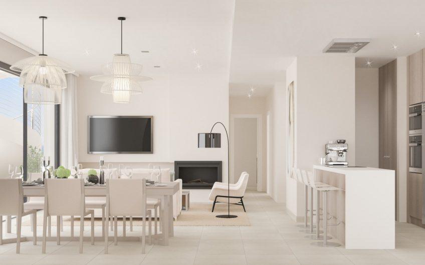 Unique and exclusive apartments in the urbanization La Finca de Cortesin