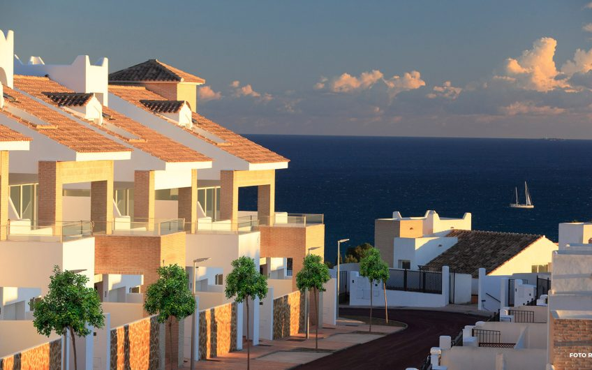 FULLY COMPLETED PRIVATE RESIDENTIAL VILLAS BESIDE THE SEA