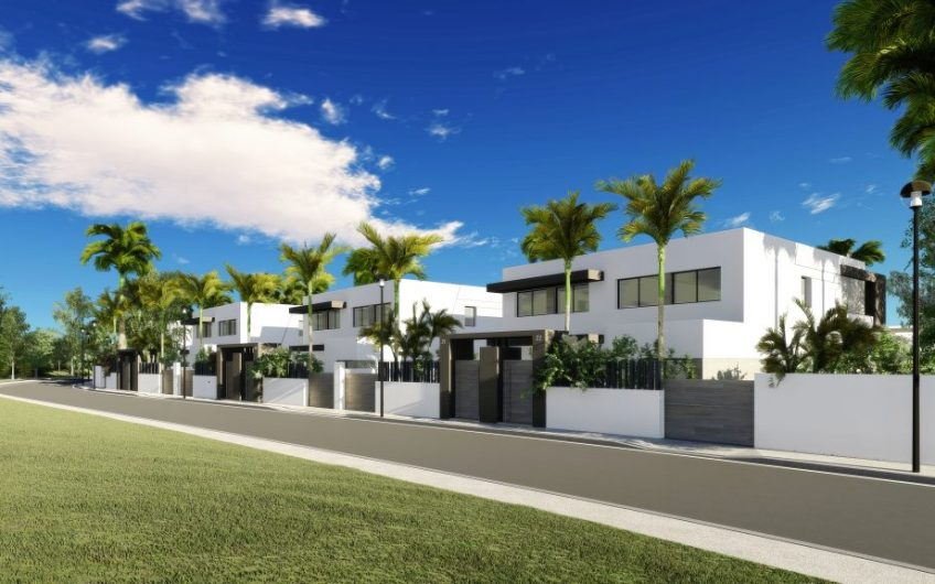 NEW MODERN SEMI-DETACHED VILLAS ON THE NEW GOLDEN MILE