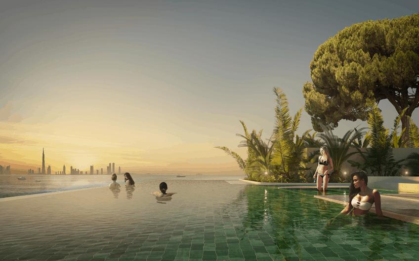 PORTOFINO HOTEL ON THE HEART OF EUROPE IN DUBAI