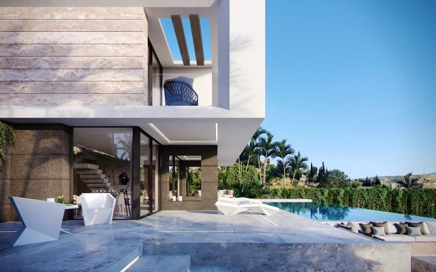 VILLA WITH SEA & GOLFVIEW
