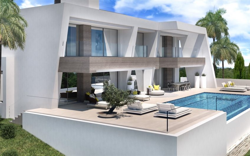 5 INDEPENDENT VILLAS WITH PANORAMIC VIEWS