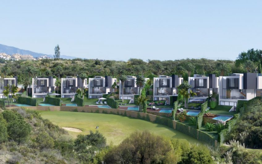 8 LUXURY VILLAS FIRST LINE LA RESINA GOLF